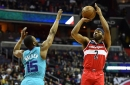Hornets can't complete season series sweep of Wizards, fall, 107-93