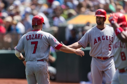 Angels offense smashes and Matt Shoemaker gets his first win