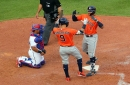 McCullers fans 10, Correa has 4 hits, Astros top Rangers 9-3