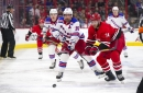 Rangers beat Canes in what may be Zuccarello's final MSG game