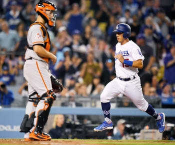 Dodgers get 1st runs and win of season, 5-0 over Giants