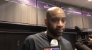 Kings news: Vince Carter's post-game reaction to Patrick McCaw's scary in-air collision