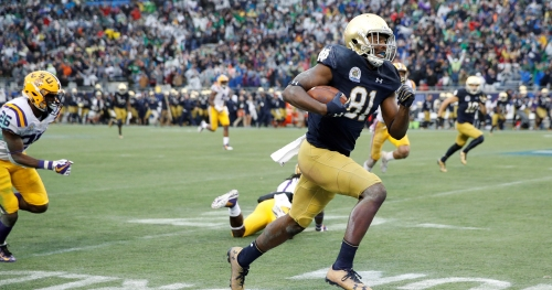 Notre Dame football: 3 breakout offensive players for 2018