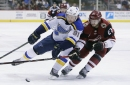 Tarasenko gives Blues 1-0 lead after 1