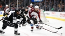 Brown's shorthanded goal helps Kings edge Avalanche