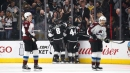 Kings edge Avalanche in crucial Western Conference matchup