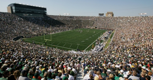 Former Notre Dame football player suing school and NCAA because of brain injuries