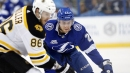 Brayden Point Gives Lightning Early Lead Vs. Bruins With Slick Wrist Shot
