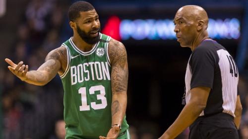 Marcus Morris Is Sorry He Slapped Ref's Butt In Celtics-Raptors Game