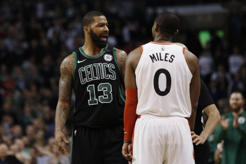 Celtics visit the Raptors with first place in the East on the line