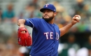 Martin Perez makes encouraging debut in Rangers' win over A's