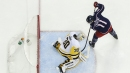 Blue Jackets clinch playoff spot despite OT loss to Pens