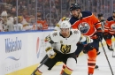 Golden Knights fall to Oilers, 4-3, after rough third period