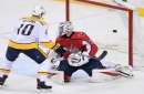 NHL roundup: Predators beat Capitals 4-3 to wrap up Presidents' Trophy