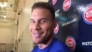 Pistons' Blake Griffin eager to enter offseason healthy