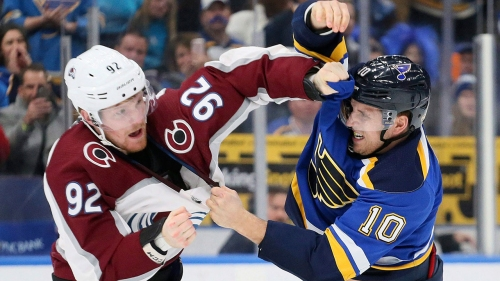 Stanley Cup Playoff Push: Avs, Blues prepare for win-and-you're-in game