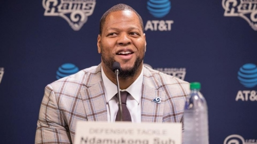 Rams' Ndamukong Suh says Aaron Donald 'wasn't recruiting' him to L.A.