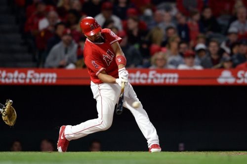 Athletics defense defects, joins Angels offense in high-scoring Halos win