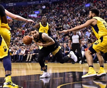 Ibaka scores season-high 25, Raptors beat Pacers 92-73