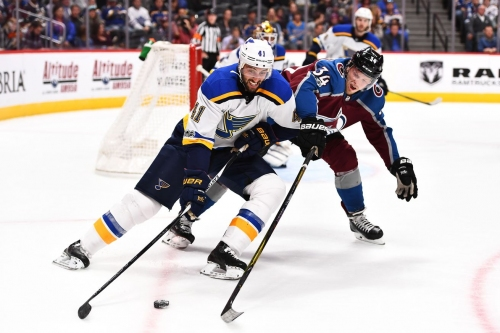 Preview Blues at Avalanche: One. More. Point.
