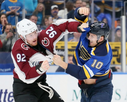 Blues vs. Avalanche: A look at the first four meetings