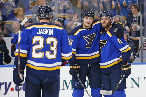 Playoffs or bust tonight for Blues