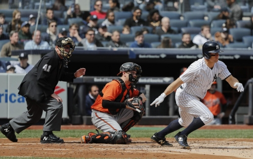 Gardner, Yankees go small to beat the Orioles 8-3 at the Stadium