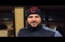 Feliz cumpleanos: Yonder Alonso gets a Mariachi birthday tribute in Indians clubhouse