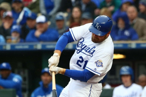 Royals win their second game, 1-0