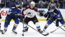 Blues' Tarasenko suffers upper-body injury vs. Avalanche