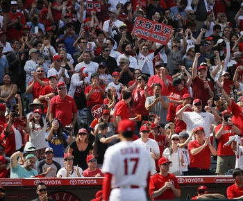 MLB roundup: Ohtani takes perfect-game bid into 7th in home debut