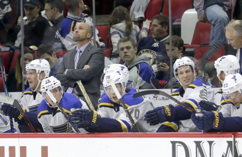 Blues coach Yeo named to Canada staff for world championships