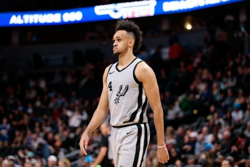 Derrick White scored 35 points in Game 1 of the G-League Finals