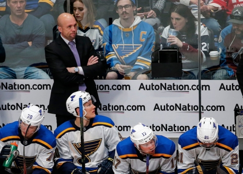 Blues notebook: Yeo named to Team Canada staff