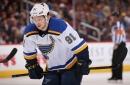 St. Louis Blues Forward Vladimir Tarasenko Dislocates Shoulder
