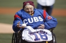 Sister Jean switches sports, tosses out 1st ball at Wrigley