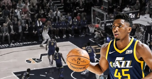 Donovan Mitchell sets new rookie record for made threes