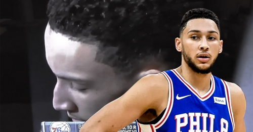 Ben Simmons responds to Donovan Mitchell's rookie sweater