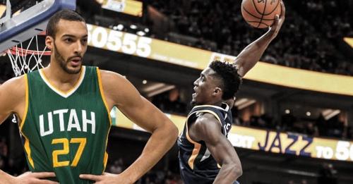 Rudy Gobert hopes Donovan Mitchell wins ROY, has high hopes for his future