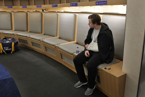 For Blues' Tarasenko, playoff failure hurts as much as bum shoulder