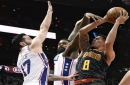 76ers get team-record 15th straight win, 121-113 over Hawks