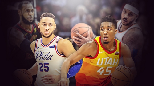 Ben Simmons-Donovan Mitchell ROY race bares resemblance to LeBron James-Carmelo Anthony in 2004