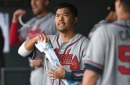 Kurt Suzuki leads Braves to sweep-busting victory over Nationals, 5-3