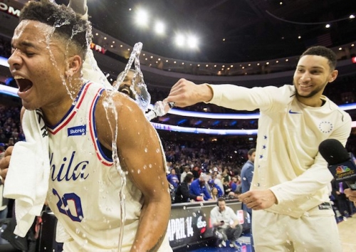 76ers' Markelle Fultz Breaks Lakers' Lonzo Ball's Record As Youngest Player To Record Triple-Double