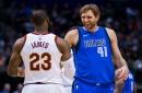 Updated math as NBA regular season ends: LeBron James is just 149 points behind No. 6 career scorer Dirk Nowitzki