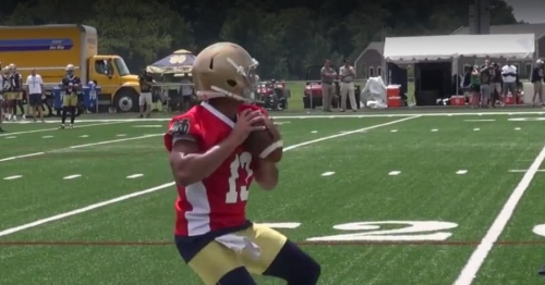 Notre Dame continues to indicate they'll get Avery Davis the ball