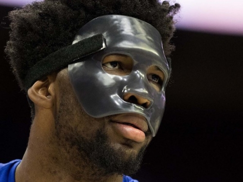 Lakers News: Joel Embiid Channeling His Inner Kobe Bryant With Black Face Mask