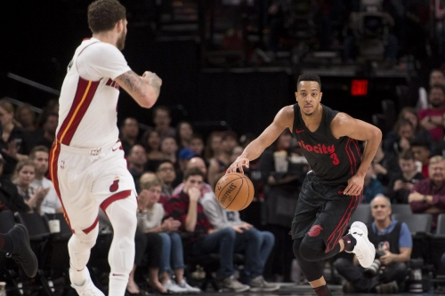 McCollum Leads NBA in Distance Covered Again