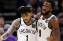 DeMarre Carroll wants to take D'Angelo Russell under his wing this summer