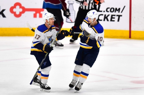 Five Blues named to Team Canada's World Championship roster